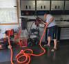 50 Foot Premium Garage Vacuum Kit with Hose Reel