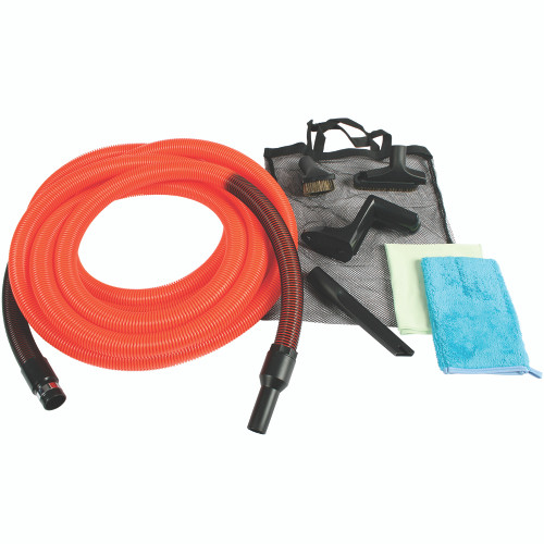 30 Foot Standard Garage Kit with Orange Hose