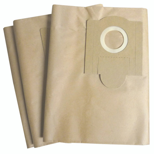 Two brown paper dust bags for FEIN Power Turbo 2.