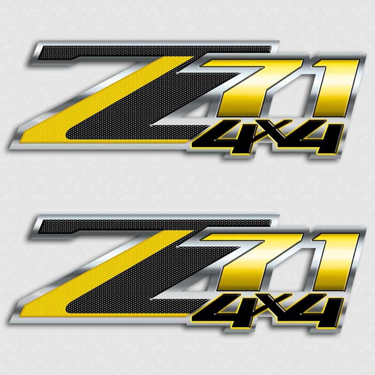 Custom Z71 Decals