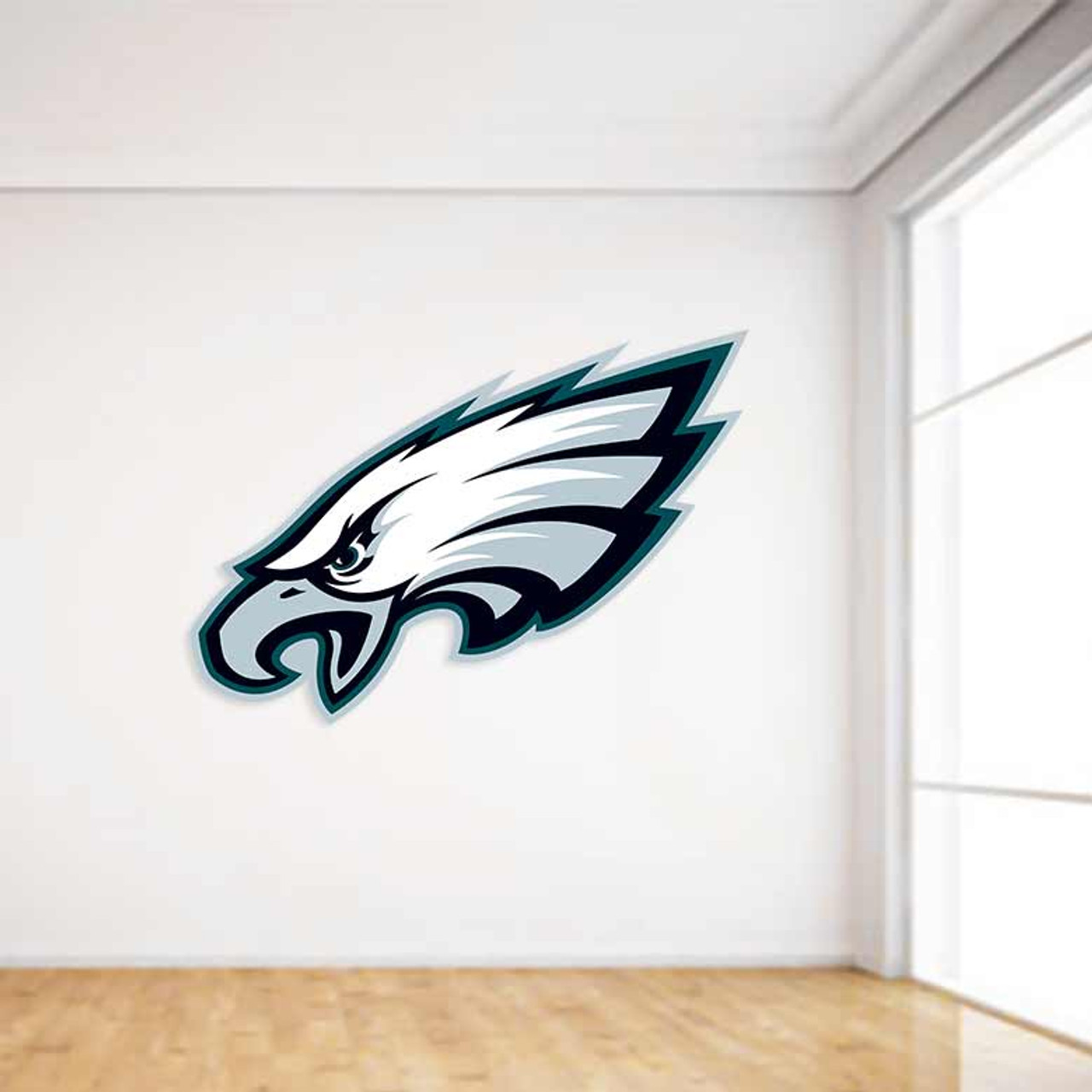 Philadelphia Eagles Football Wall Decal & Philadelphia Football Wall Decal | NFL Sticker