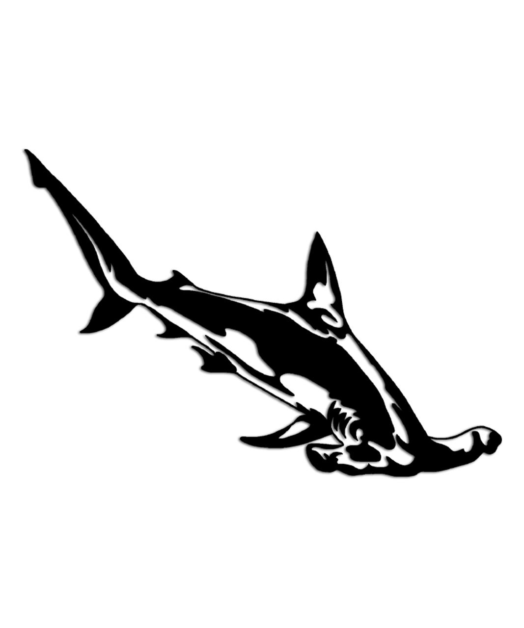 Well-liked Hammerhead Shark Sticker - Aftershock Decals BZ85