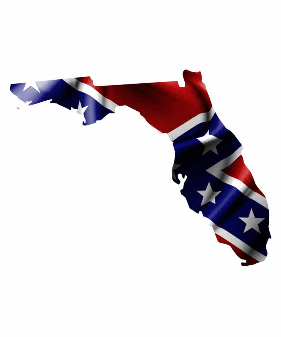 florida rebel flag sticker aftershock decals