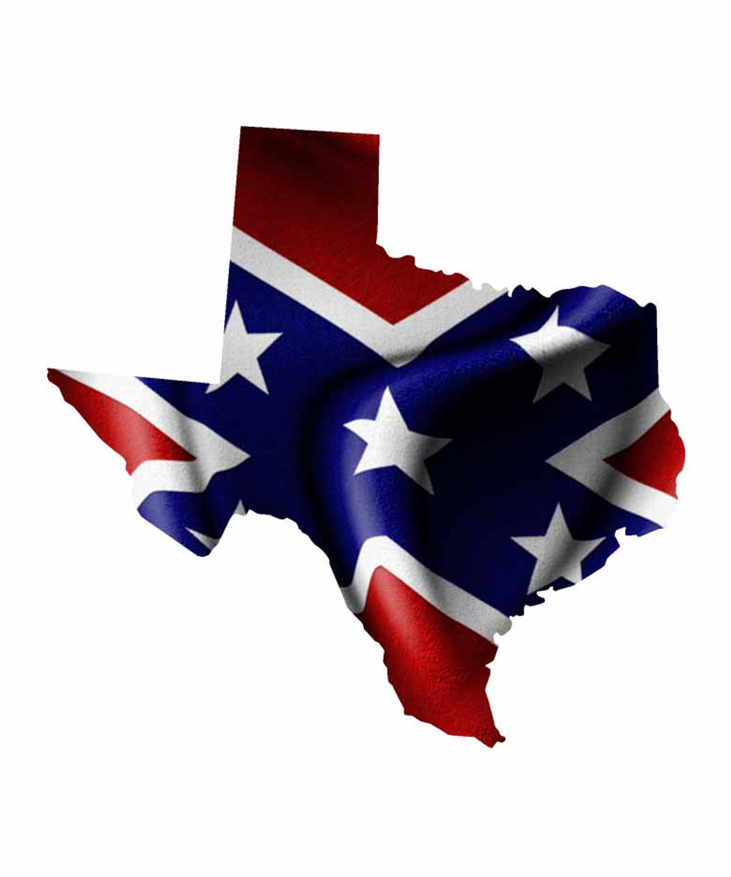 Texas Rebel Flag Sticker