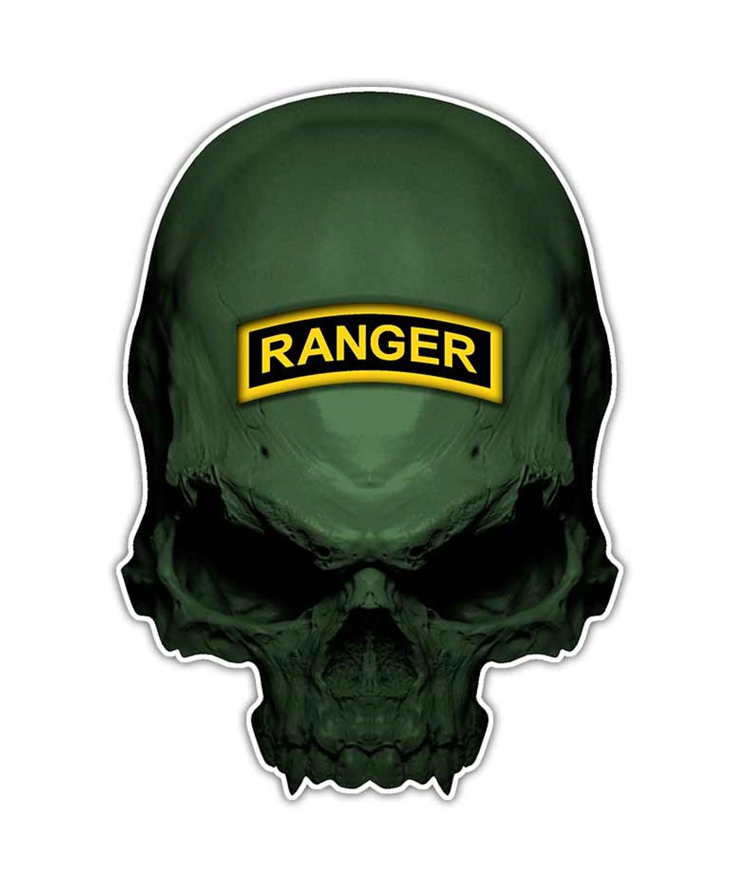 Us Army Ranger Skull Logo