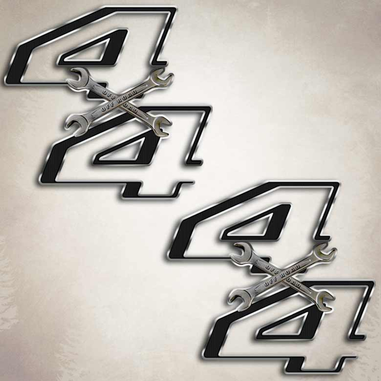 F 250 Wrench Cross F 350 Ford Mechanic Truck Decals