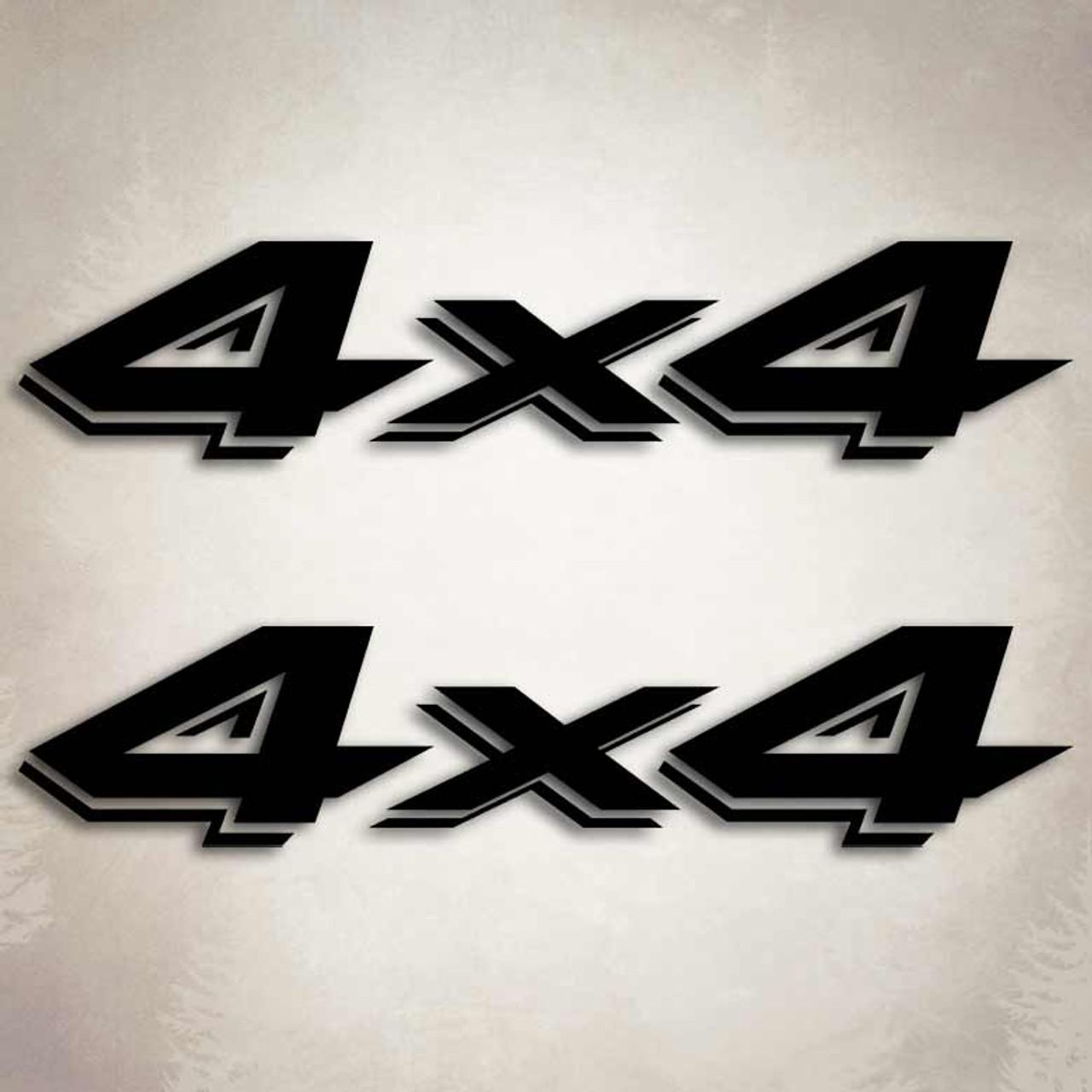 4x4 dodge dakota truck decal set