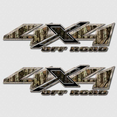 4x4 Shocker Camouflage Shadow X Truck Decals