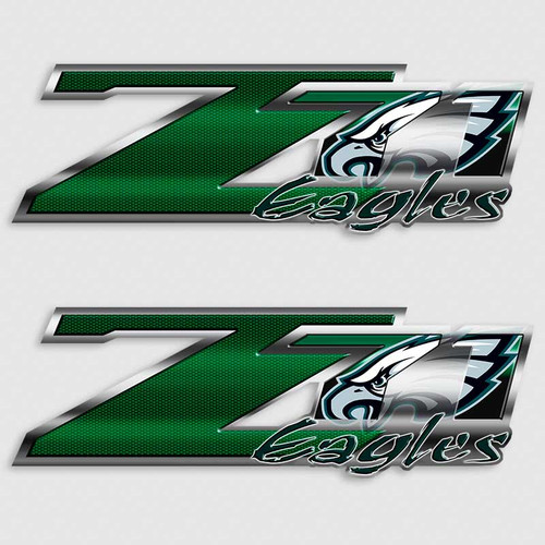 Z71 Eagles Football Truck Decals