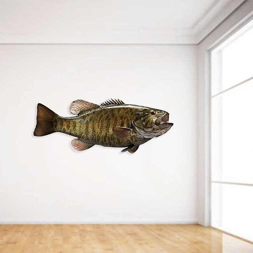 Smallmouth Bass Wall Decal