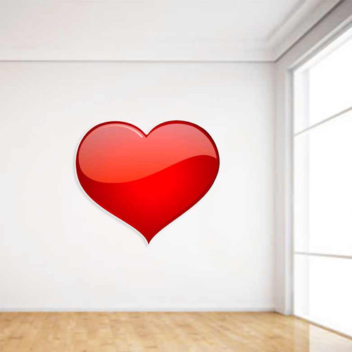 Princess Heart Wall Decal