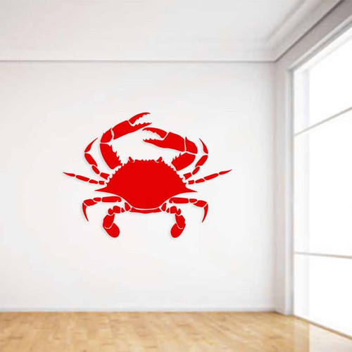 Ocean Crab Wall Decal