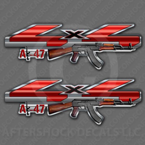 4x4 AK-47 Decals