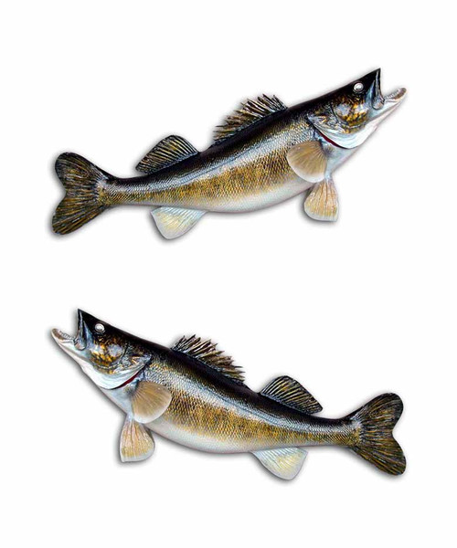 Walleye Arch Fishing Stickers