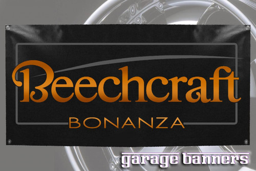 Beechcraft V-Tail Bonanza Banner