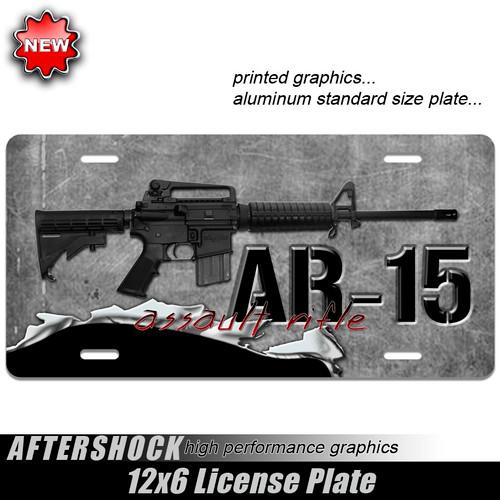 AR-15 Assault Rifle Plate