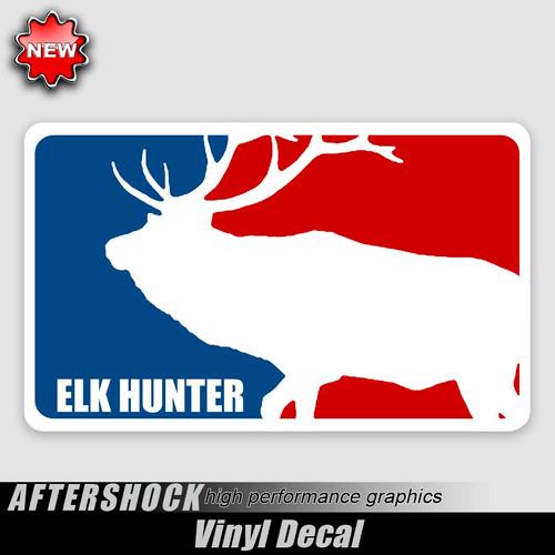 Elk Hunter Logo Sticker