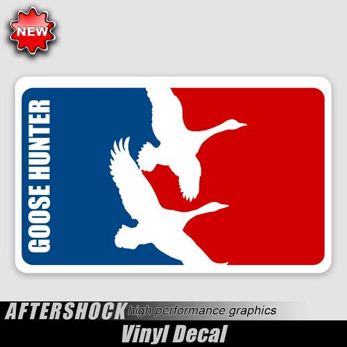 Goose Hunter Logo Sticker