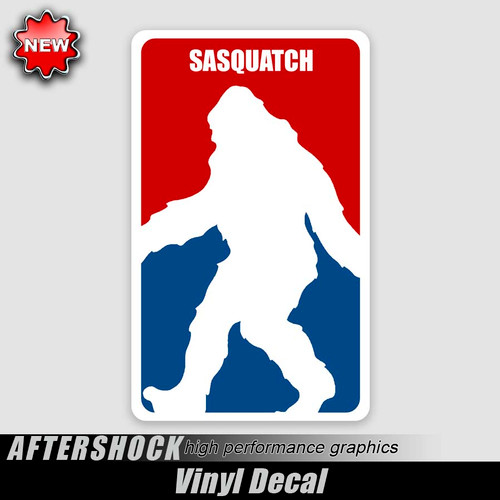 Sasquatch Bigfoot Logo Sticker