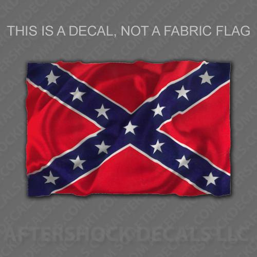 Confederate/Rebel Flag Sticker
