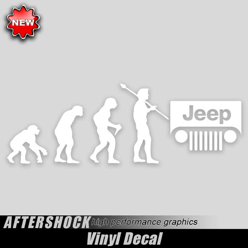 Jeep Evolution Sticker