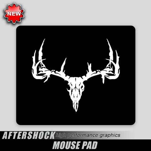 Deer Skull Mouse Pad