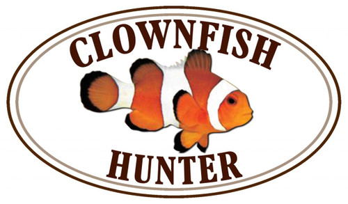 Clownfish Fish Hunter Sticker