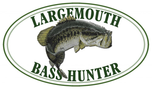 Largemouth Bass Hunter Sticker