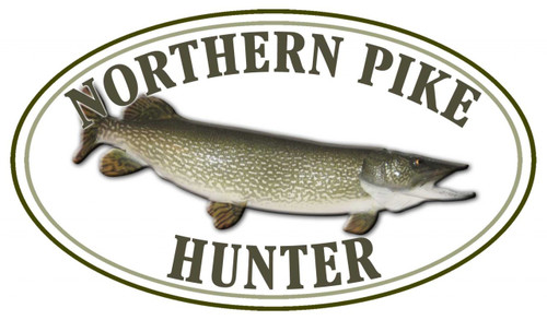 Northern Pike Hunter Sticker