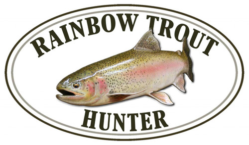 Rainbow Trout Hunter Sticker