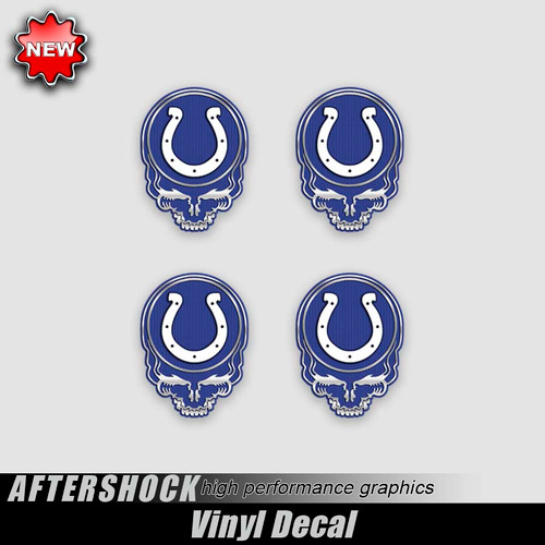 Colts Skull Decal