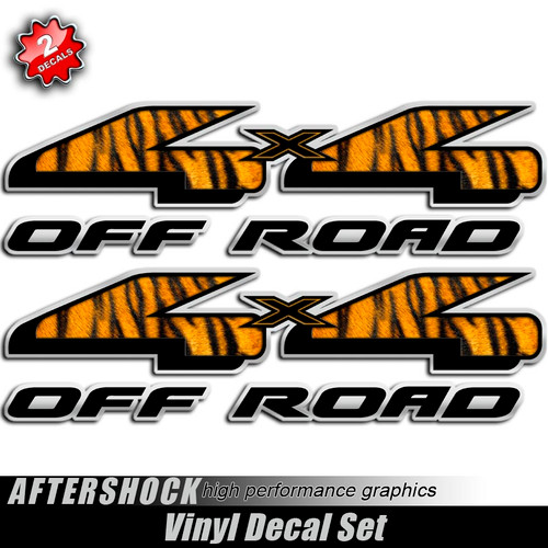 4x4 African Safari Tiger Decals