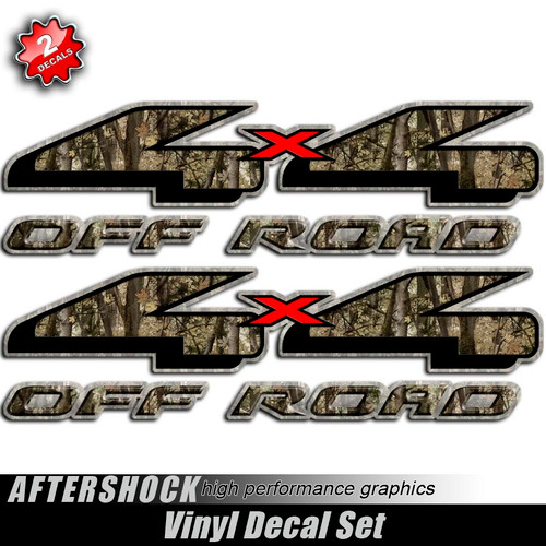 4x4 Shocker Camouflage Hunting Decals