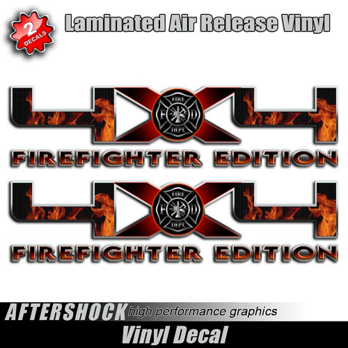 4x4 Firefighter Edition Ford Truck Decals