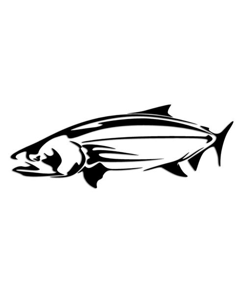 Chinook Fishing Sticker