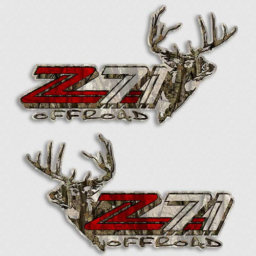 Z71 Deer Sniffer Off Road Decals