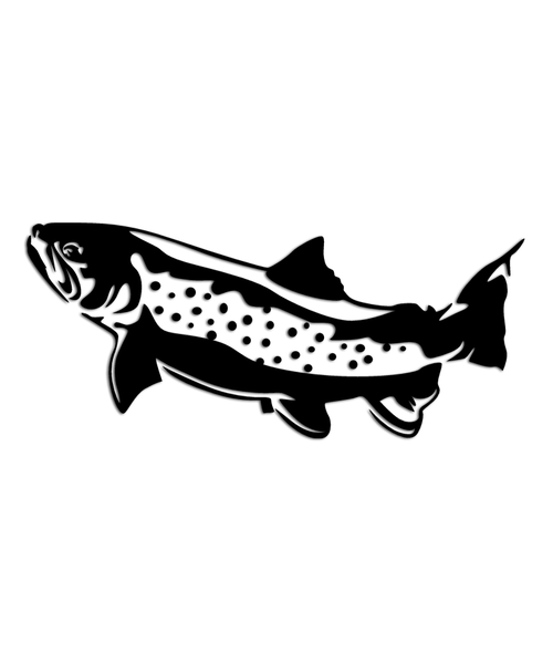 Trout Fishing Sticker