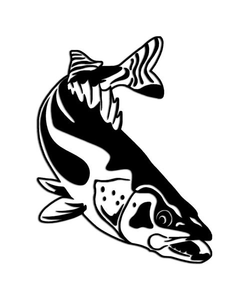 Walleye Fishing Sticker