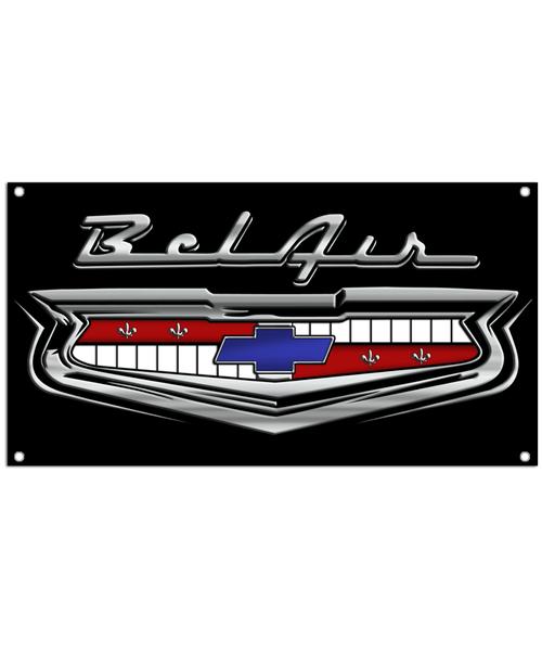 Bel Air Classic 1950's Car Banner