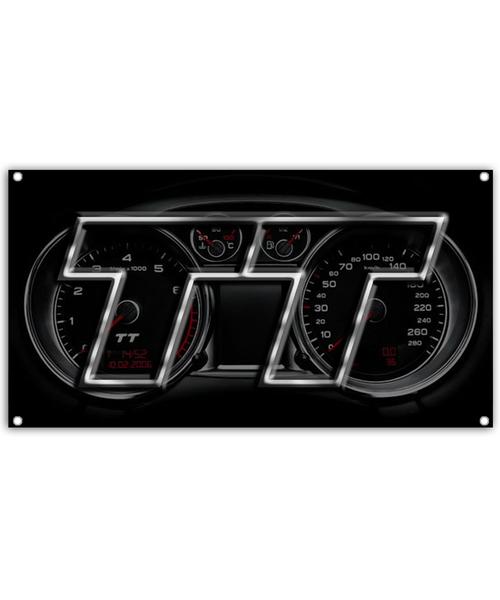 Audi TT Gauge Cluster Banner