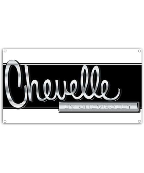 Chevelle Muscle Car Banner