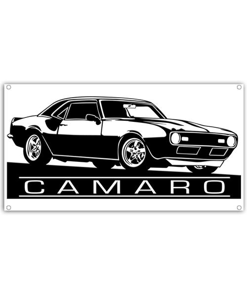68-69 Camaro Profile car Banner