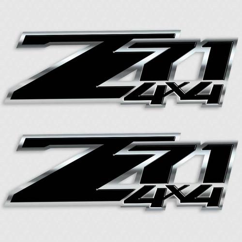 Z71 Black Edition 4x4 Decal Set