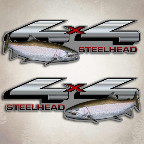 4x4 Steelhead F-150 Truck Decals