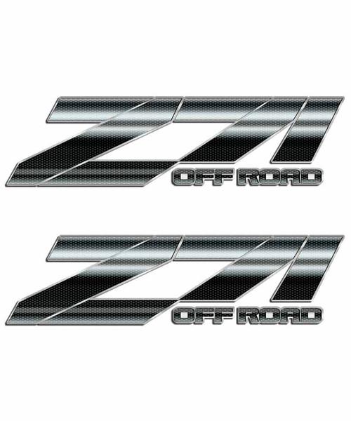 Carbon Fiber Z71 Off Road Sticker Set
