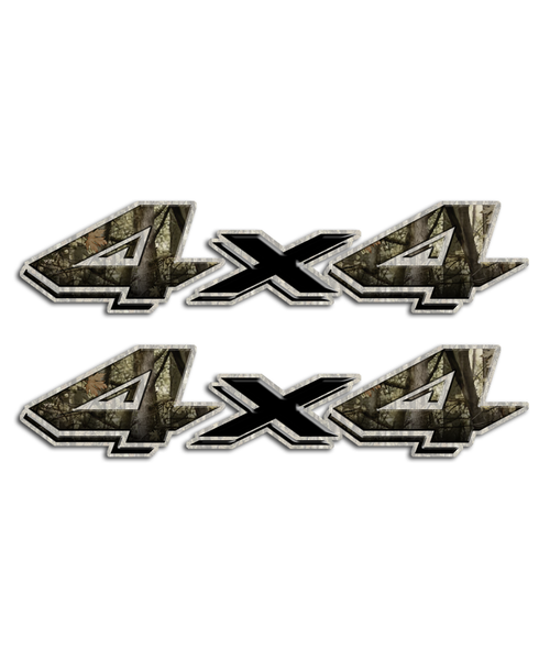 4x4 Shocker Camo Stickers