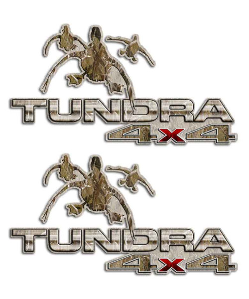 Tundra 4x4 Duck Stickers