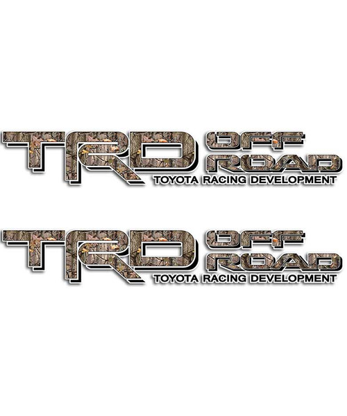 TRD Timber Camo Sticker Set