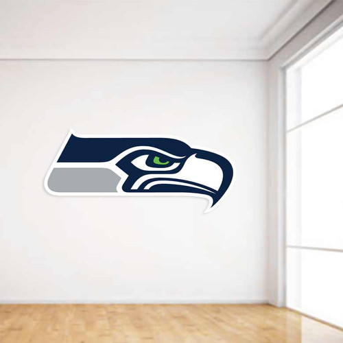 Seahawks Football Wall Decal