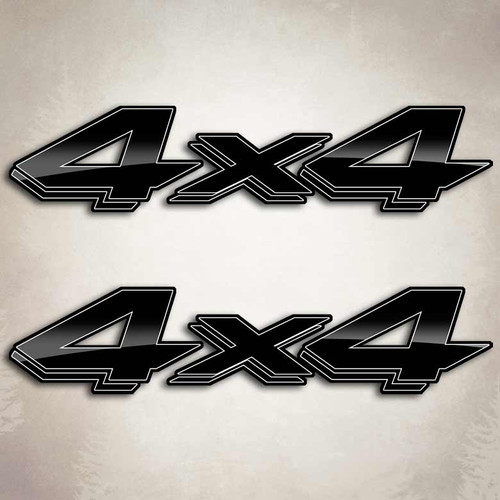 Black Edition Dodge Dakota 4x4 Decals